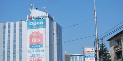 Rooftop hotel IBIS Sibiu