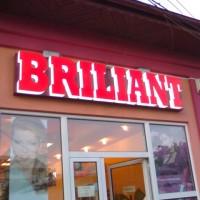 Litere volumetrice Briliant - Calarasi