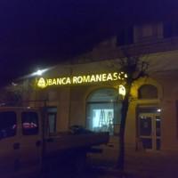 Litere volumetrice iluminare TGS BROM Turda, jud Cluj - by night