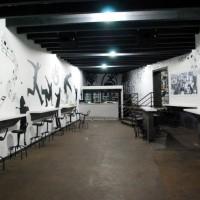 Vedere ansamblu tejghele albe material compozit - Kulturhaus Bucuresti