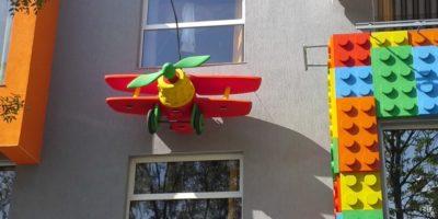 Butaforie avion Goufy