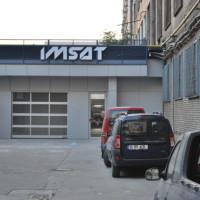 Fatada IMSAT finalizata - litere volumetrice_bond_tabla expandata