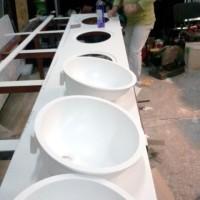 Lavoare Kulturhaus organic stone - in lucru