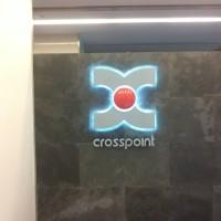 Logo volumetric Crosspoint iluminare LED (1)