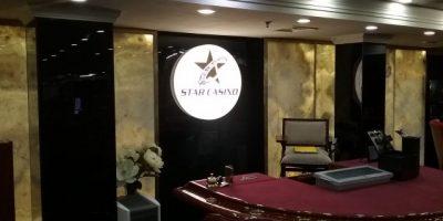 Star Casino Bucuresti caseta volumetrica LED pe placare HIPS negru (3)