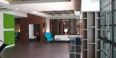 Trafor lemn si iluminari scafe_Hotel Boavista Timisoara (2)